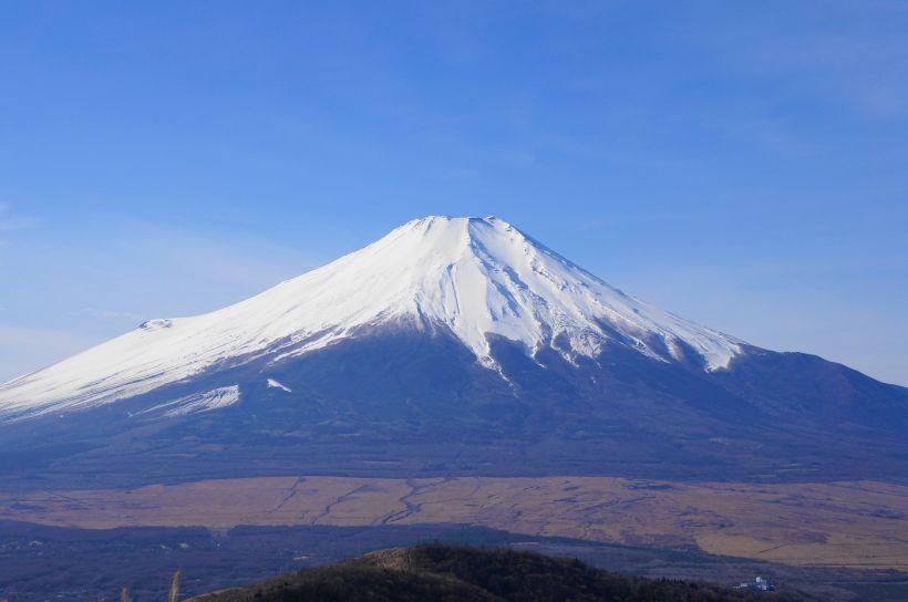 山頂から末広がりの富士山を見よう!