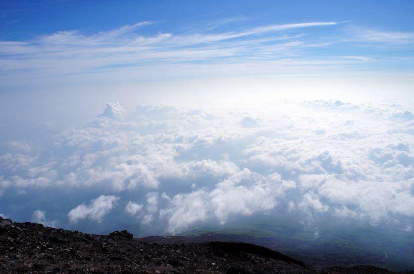 最も変化ある風景が魅力の富士登山ルート