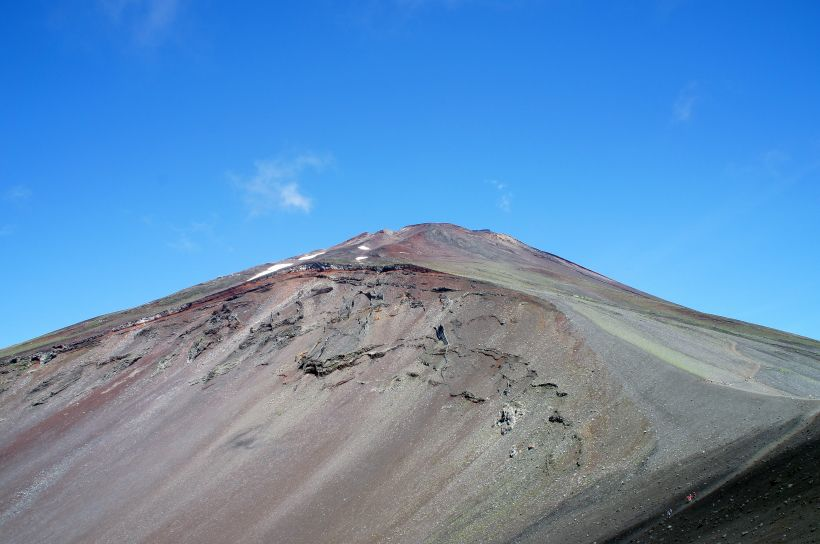 富士山から富士山を見るお勧めスポット1:宝永山山頂