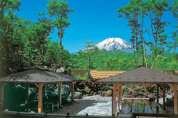 絶景が人気の山中湖温泉「紅富士の湯」でサッパリ!