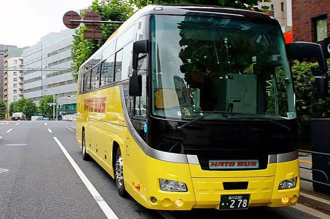 マイカー規制もなんのその!「はとバス」で5合目まで楽々移動!