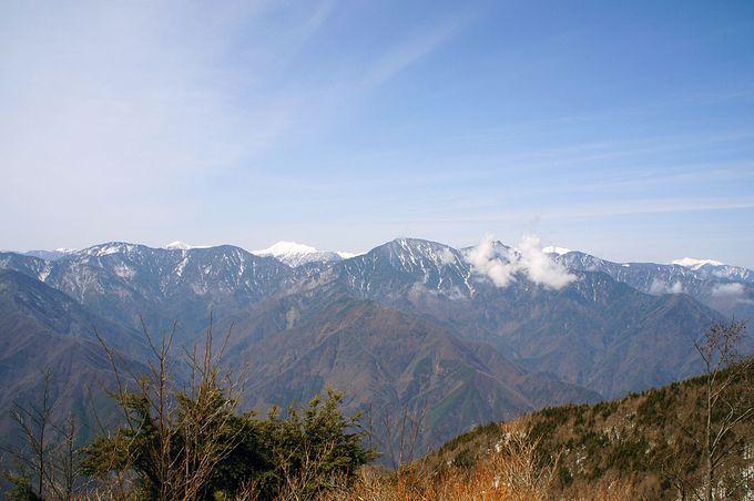 南アルプスの展望台・希望峰へ足を延ばそう!