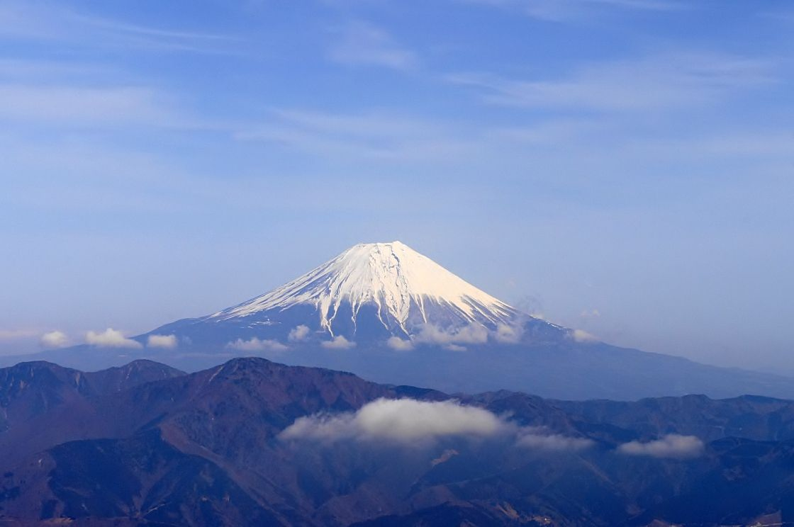富士山の展望抜群!日本二百名山/山梨百名山の七面山