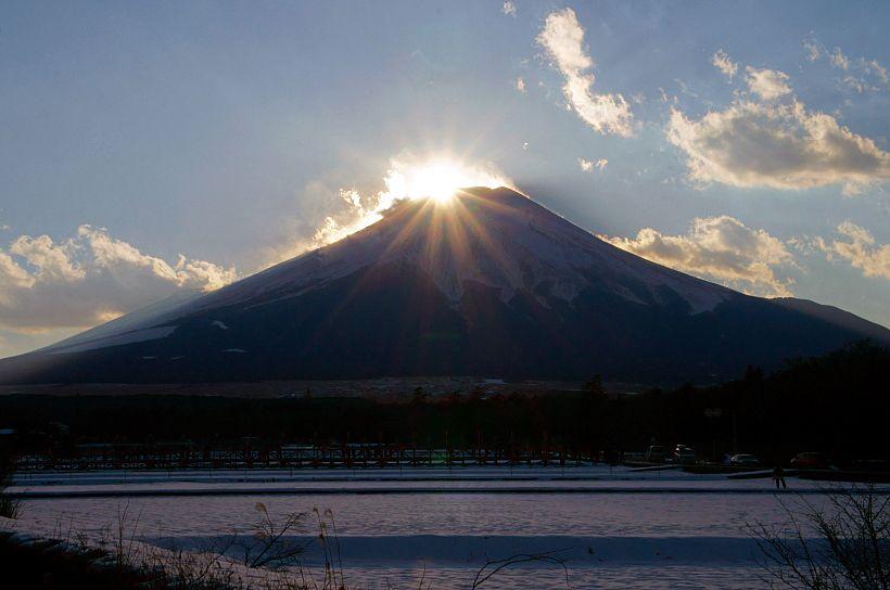 8.山中湖 DIAMOND FUJI WEEKS/山梨