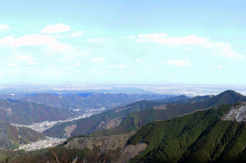 展望地へ楽々アクセス!関東平野を一望しよう!