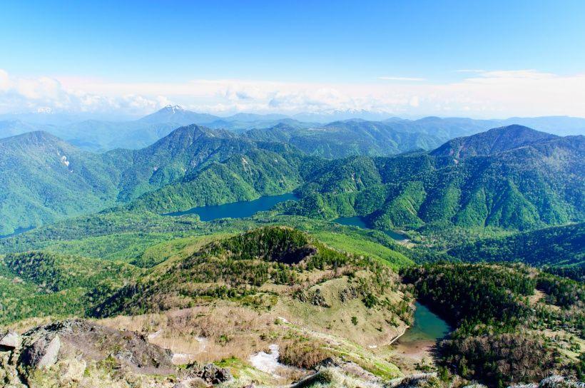 360度の大展望!日本百名山・日光白根山