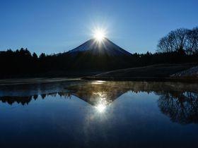 冬に訪れたい山梨の観光スポット10選 ダイヤモンド富士にイルミも!
