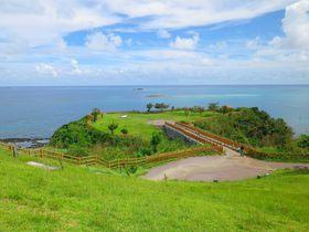 神の島を臨む絶景公園 沖縄本島「知念岬公園」