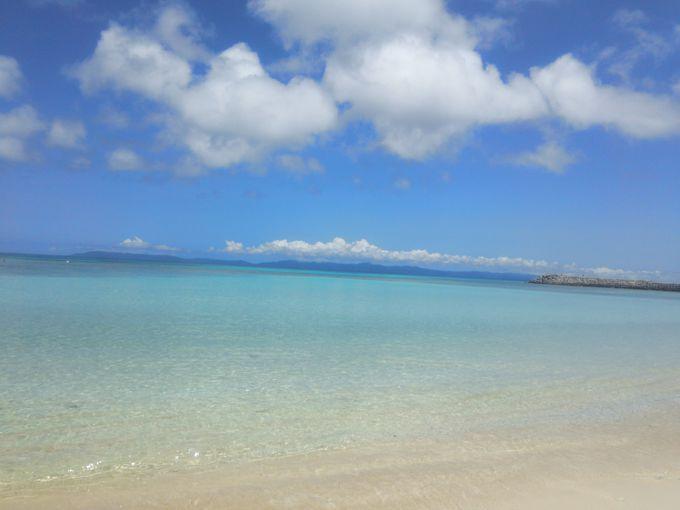 2.ニシ浜やペー浜でハテルマブルーを堪能しよう