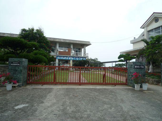 波照間島ってこんなところ!莉子の通った小中学校もあります!