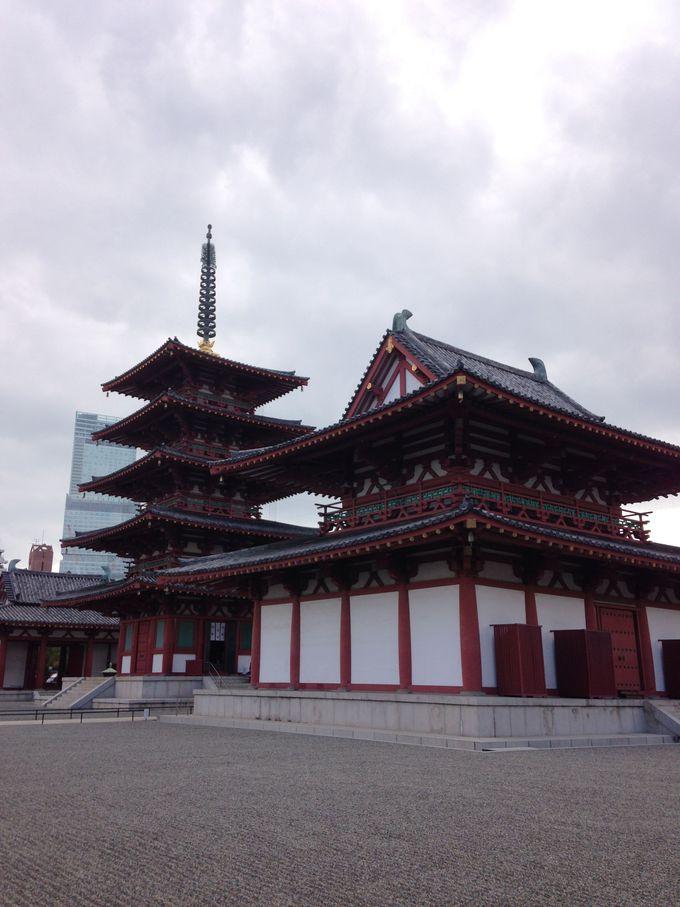 「恵比寿」の今宮戎神社と「布袋尊」の四天王寺