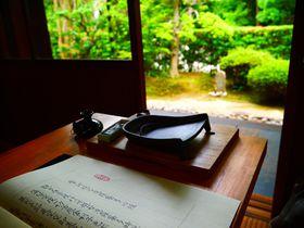 穴場!奈良・東大寺で気軽に写経体験♪完成した写経は大仏様の胎内へ