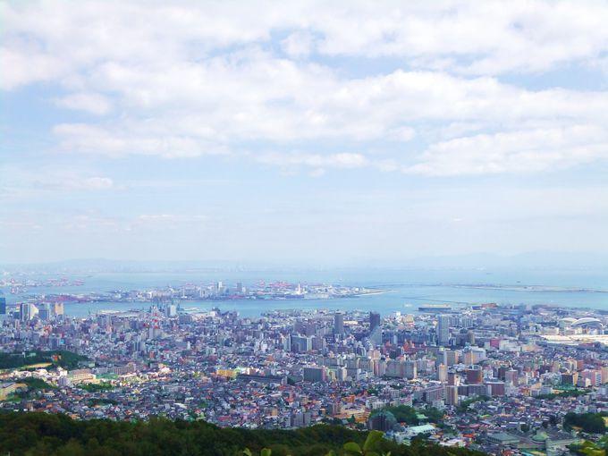 神戸の港まで見渡せる最高のロケーション!