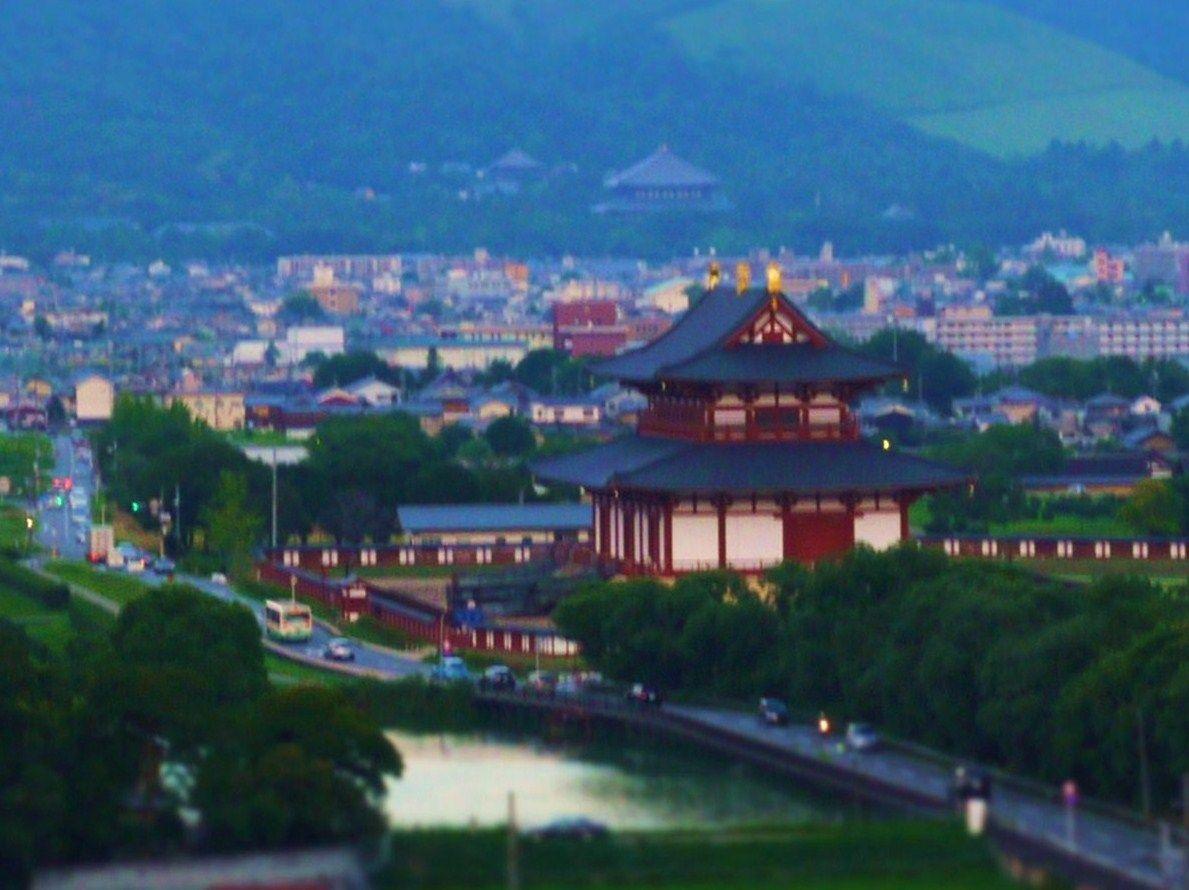 【1】平城宮跡を見渡せる無料の穴場展望スポット!遠くには東大寺も