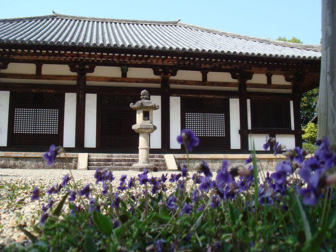 【2】秋篠寺で天平文化の上品な雰囲気を満喫!有名な「伎芸天像」も