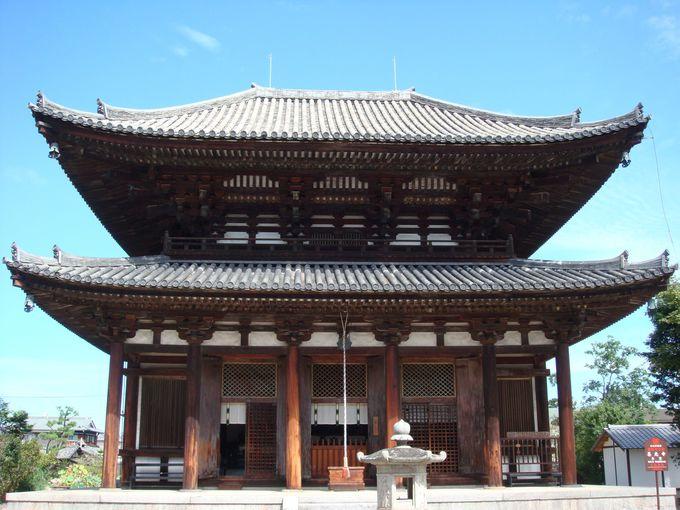 【4】東大寺大仏殿のミニチュア版!?重要文化財「試みの大仏殿」は必見