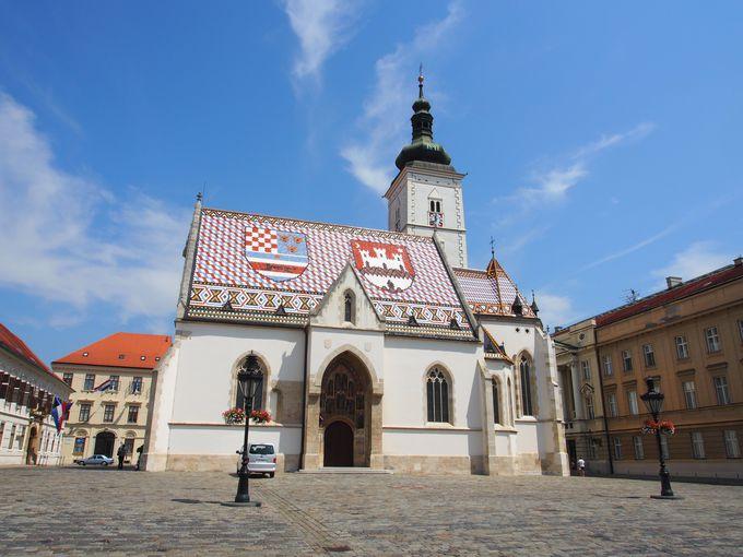色合いがクロアチア!聖マルコ教会
