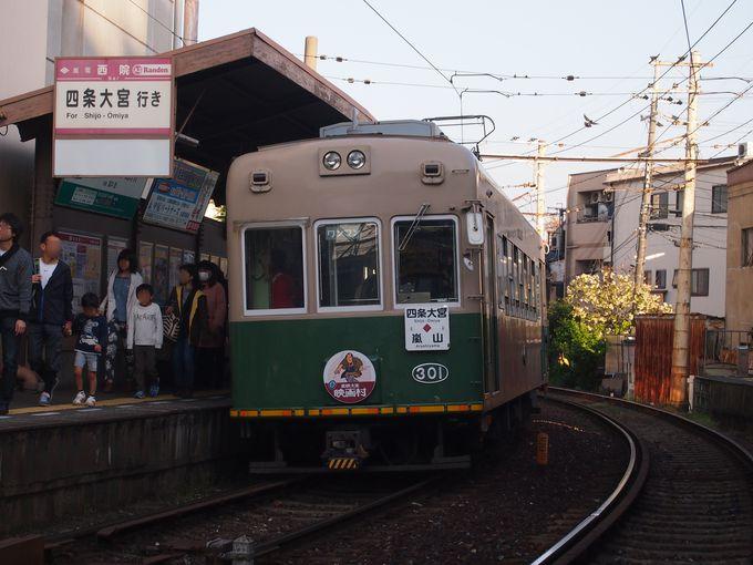 京都の路面電車 嵐電