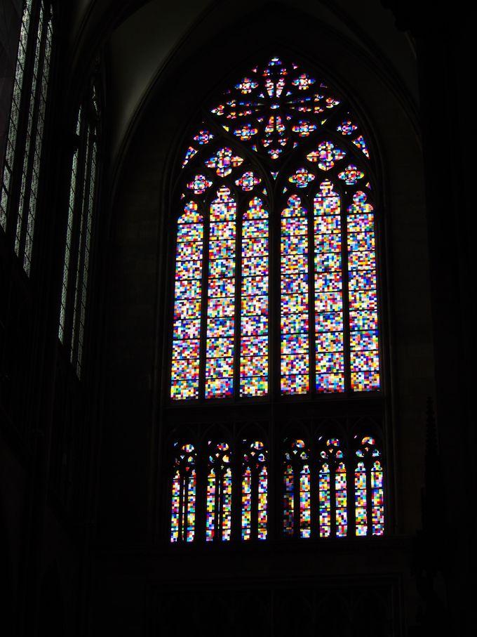 南側側廊、リヒターのステンドグラス
