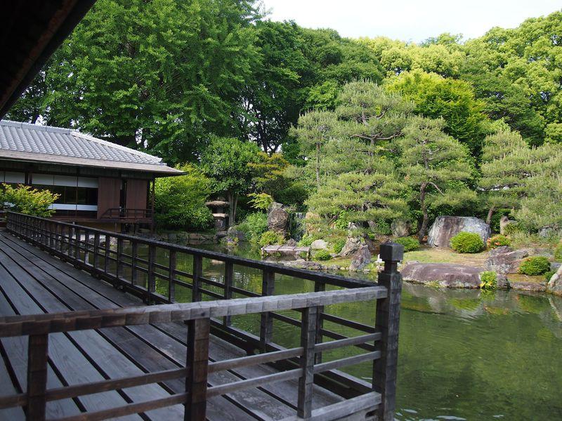 庭園を巡るキーワード「渉成園十三景」