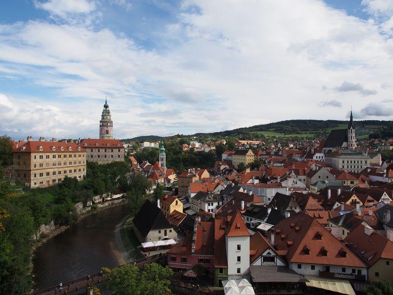 チェコの世界で一番美しい街!チェスキークルムロフの散歩旅