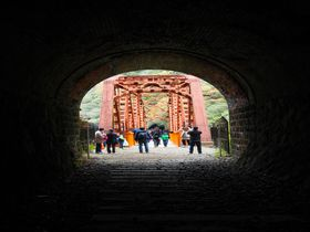 ついに一般公開!冒険と渓谷美のJR福知山線廃線跡ハイキング!