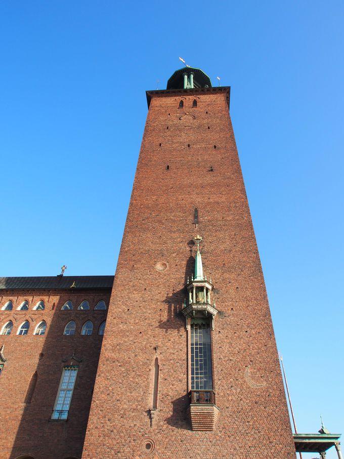 ストックホルムであの塔に出会う!その1.市庁舎