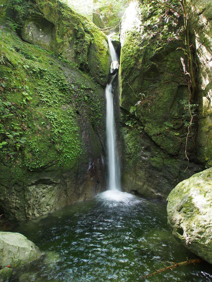 魅力その2 滝が連続!マイナスイオンたっぷり!