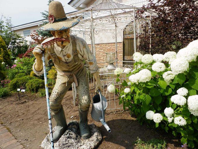 本格的なガーデンセンター「花の牧場」