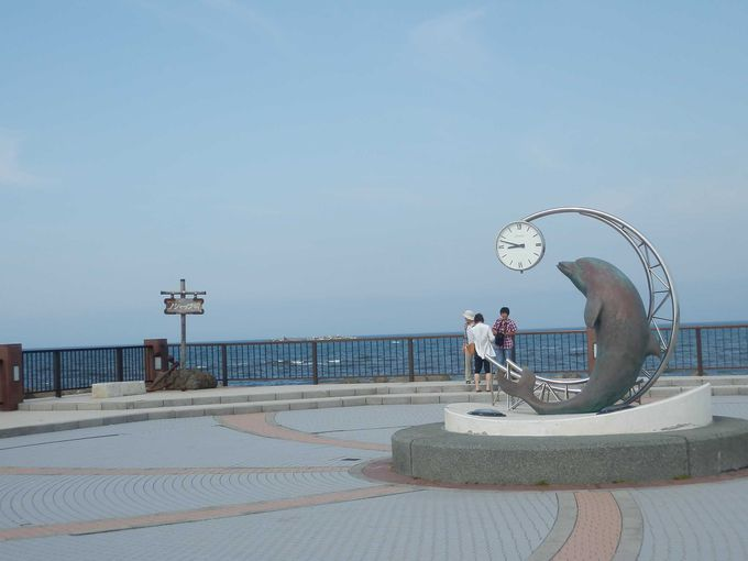 雄大な景色広がる西海岸・「ノシャップ岬」