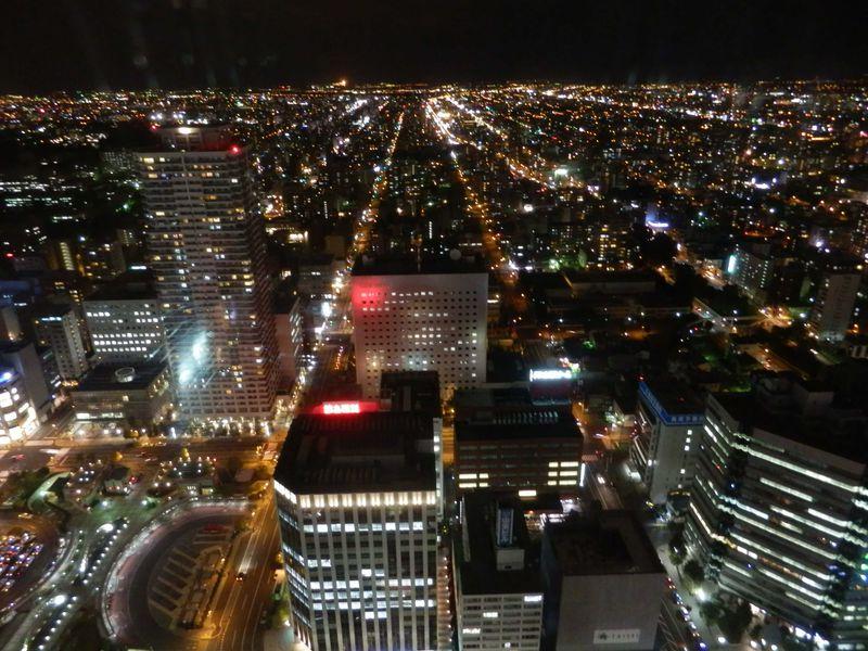 夜景が奇麗な穴場、札幌「JRタワー展望室T38」♪