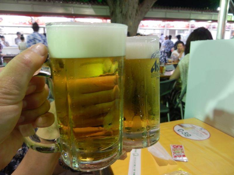 限定のビールも!日本最大規模「さっぽろ大通ビアガーデン」