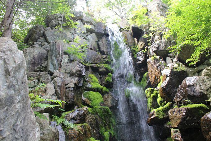 「オリビンの滝」は癒しの水の音♪
