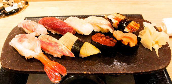 4日目:昼食「宝すし」で本場のおいしいお寿司を堪能