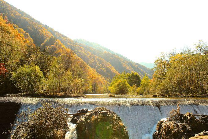 景勝地「ピョウタンの滝」