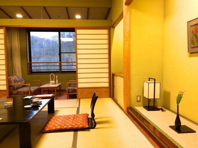 登別温泉「第一滝本館」本館の和室