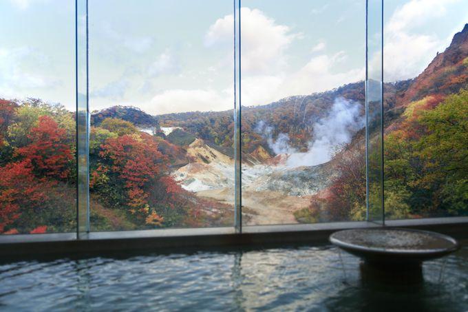 登別温泉「第一滝本館」自慢の大浴場