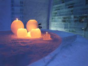 冬のイベント 北海道「アイスヒルズホテル」でキャンドル作り体験