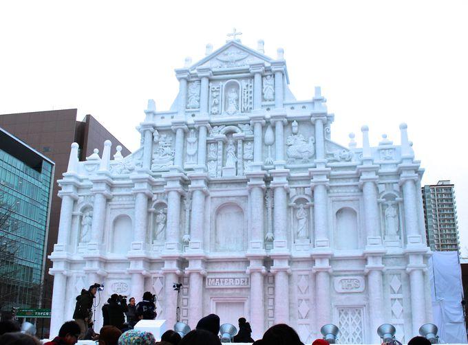真冬の大イベント「さっぽろ雪まつり」