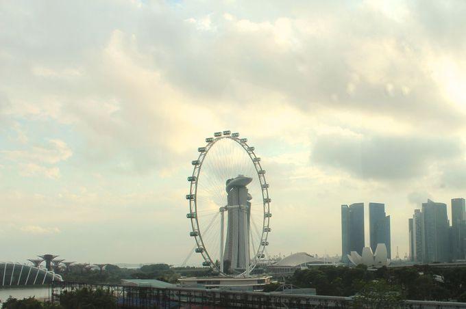 「シンガポールフライヤー」は世界で二番目に大きい観覧車です!