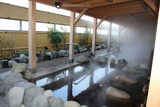「新千歳空港温泉」が無料で利用できます