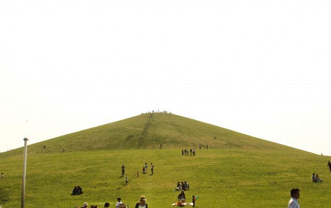 モエレ山にも登ってみよう!