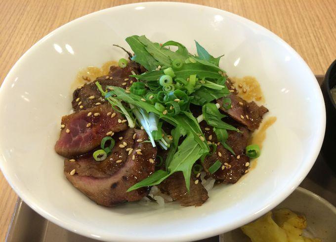 ジンギスカンステーキ丼・松尾ジンギスカン・フードコート店