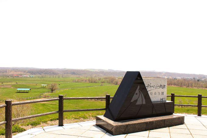 丘の上の「サラブレット銀座駐車公園」から眺める風景!