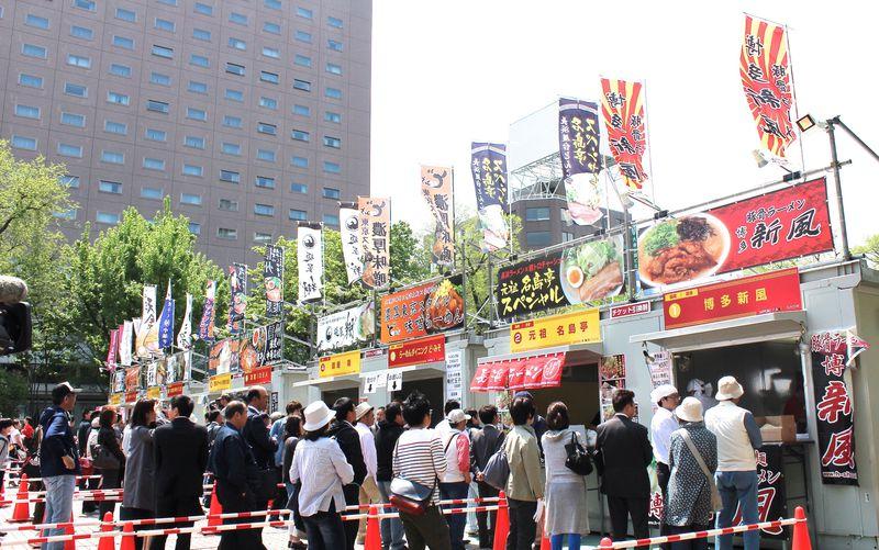 人気の名店が北海道に集結!大通公園「札幌ラーメンショー 2017」