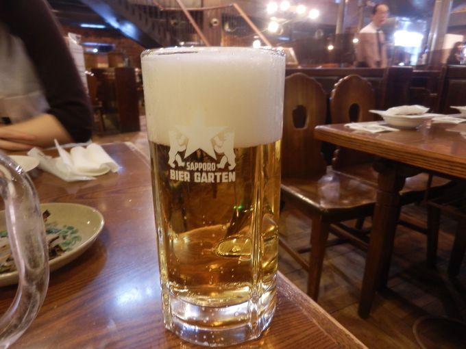 工場直送の新鮮「生ビール」を頂こう