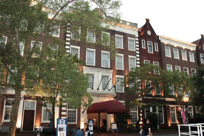 パーク内にある唯一のホテル「ホテルアムステルダム」