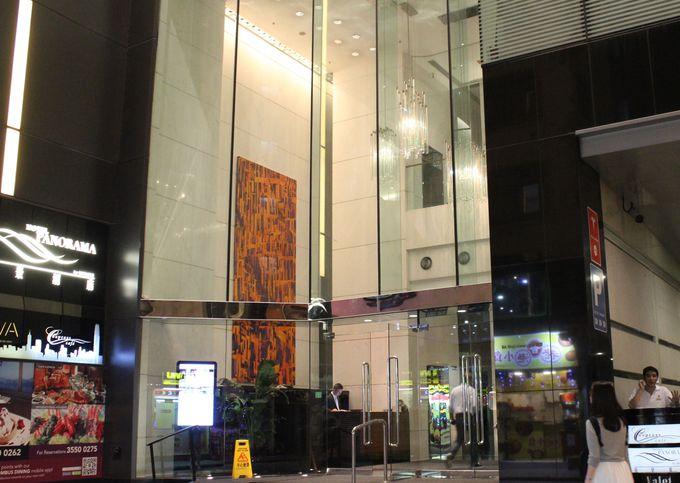 尖沙咀(チムサーチョイ)の街中にある「ホテル パノラマ バイ ロンバス」