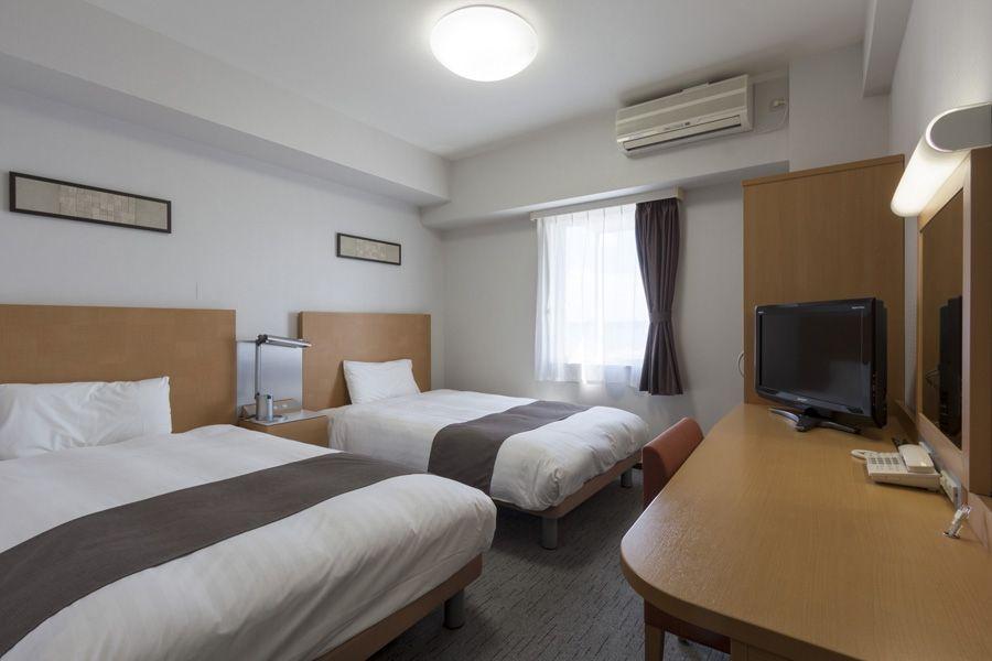 快適な睡眠が得られるように配慮された客室!