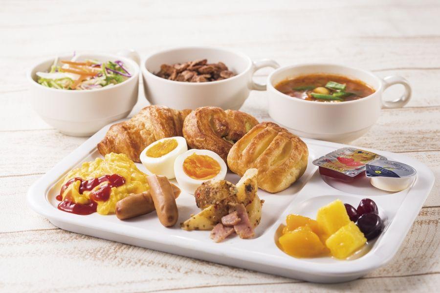 体に優しい無料朝食!